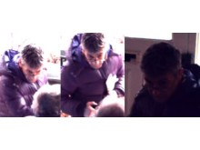 Images of man police wish to identify