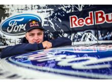 Joni Wiman valmiina Amerikan Global Rallycross -sarjan Daytonan osakilpailuun