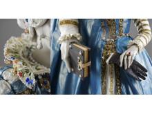 Maria av Medici  - detalj av klänning