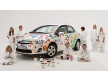 Toyota blir nationell sponsor till Friends