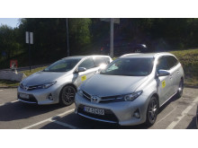 Hertz BilPool Toyota Auris Hybrid