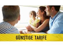 derschnellzug.de - günstige Tarife für die ganze Familie