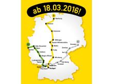 Liniennetz derschnellzug.de ab 18. März 2016