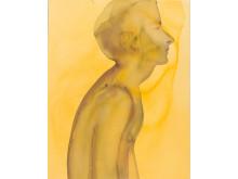 Mats Gustafson, Emil, 1995, akvarell på papper