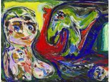 """Asger Jorn: """"Maternitet"""" (1953)"""