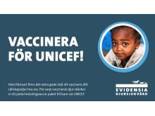 Vaccinera för UNICEF