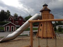 Woodwork AB - Fyr med 6 meter långt rutschrör