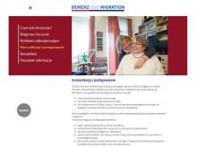 Die Webseite www.demenz-und-migration.de informiert auch auf Polnisch