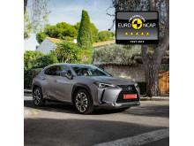 Lexus UX EuroNCAP 5 stars 02 1x1