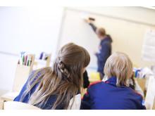 Skolundervisning i klassrum