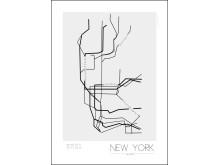Storsäljande stadsprint - New York