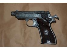 Pistol seized
