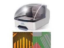 ProtoMat D104 en mönsterkortsfräs med integrerad högprecisions UV-laser