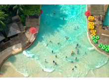 Sentosa Island ligger 10 minutter fra Singapores pulserende shoppingområde