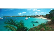 Store Bay - stranden på Tobago