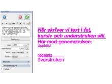 Text i Topocad 16.1