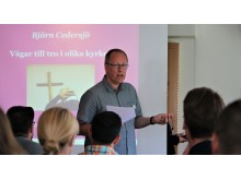 Björn Cedersjö talar