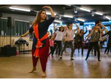 Oslo Kulturnatt 2018 Bollywood workshop på Melahuset