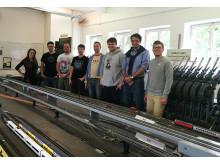 Exkursion in das Eisenbahn-Betriebs- und Experimentierfeld EBuEf an der TU Berlin