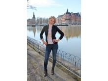 """Tanja Matila, författare till """"Veterinär Vims - Valarnas hjälte"""""""