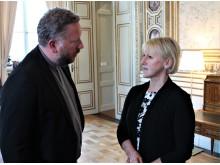 Lasse Svensson i samtal med Margot Wallström