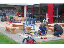 Spielplatzprojekt - Bauphase 4