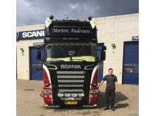 Ny Scania R 580 til ny vognmand