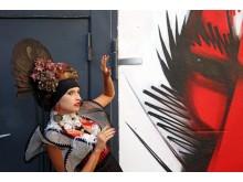 Vorstellung des 'Geisha' Kleides von Designstudent Marco Stern