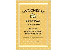 Ostfestival på Nordiska museet, affisch Studio Finne 2016