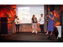 Finally Lost tar emot utmärkelsen för samlat arbete i kategorin Open World