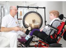 Klangtherapie im Kinderhospiz Bärenherz