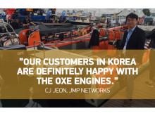 CJ Jeon, CMO, JMP Networks