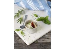 Receptbild Zeta BreOliv med soltorkade tomater & rosmarin