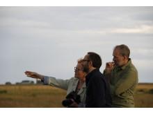 Andreij Zvyagintsev och  Mikhail Krichman tillsammans med Victoria Ivleva på Närsholmen