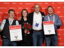 Vinnare i Bästa varumärkessajt, Wilhelmsen - Episerver Awards 2016