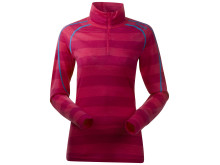 Soleie Lady Half Zip - Hot Pink