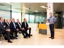 Customer SKF talking at opening_05.10.17