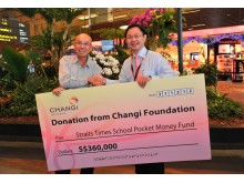 Changi Foundation's donation to The Straits Times Pocket Money Fund 5