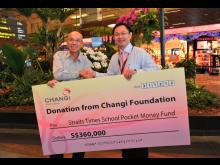 Changi Foundation's donation to The Straits Times Pocket Money Fund 5