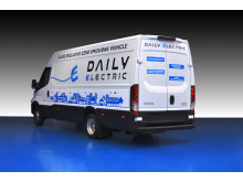 Ny Daily Electric er et 100% elektrisk nul-emissions-køretøj