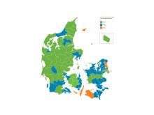 I hvilke kommuner har flest virksomheder overskud