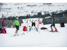 Alpintrening i Trysil Renn- og Treningssenter