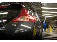 The first Volvo C30 1.6D DRIVe has now been produced in Volvo Cars Ghent plant
