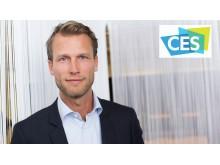 Robert Brunbäck, VP of IoT Telenor, at CES