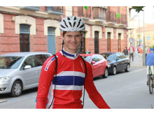Syver Wærsted under sykkel-VM 2014