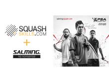 SquashSkills + Salming