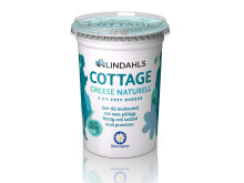 Lindahls Cottage cheese naturell 450 g