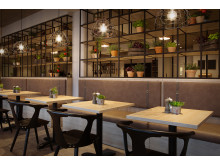 Scandic Kokstad restaurant
