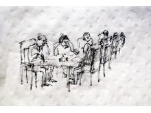 """""""Ett mycket viktigt möte"""" av Rasmus Sköld"""