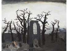Vi ses i skogen 78x110 cm 2010 av konstnär Kent Iwemyr